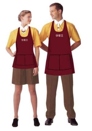 快餐厅服装