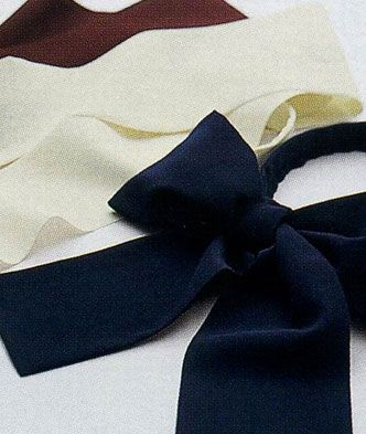 七彩蝴蝶结领带